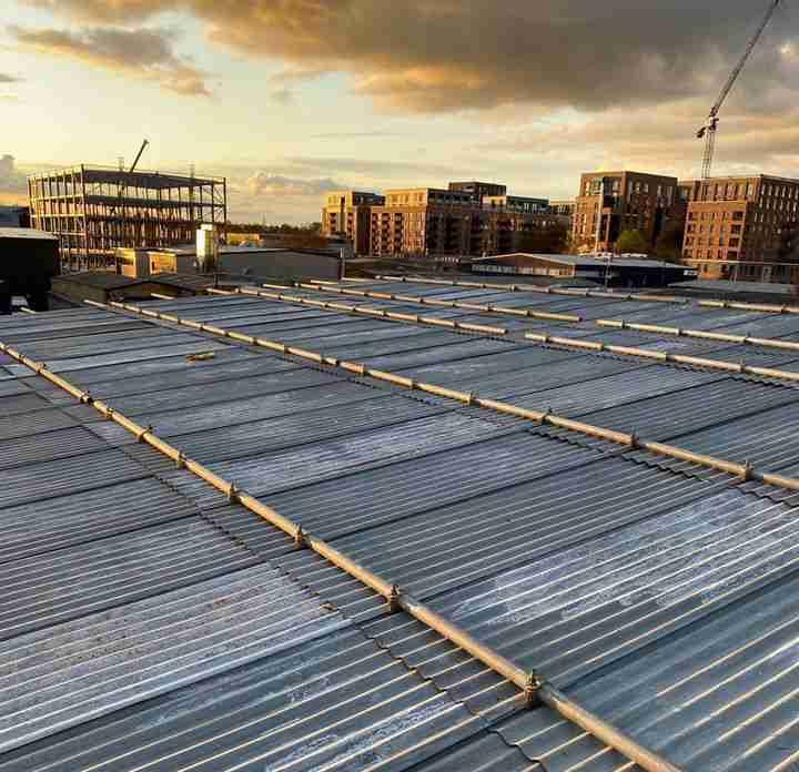 Scaffold temp roofs Essex & London